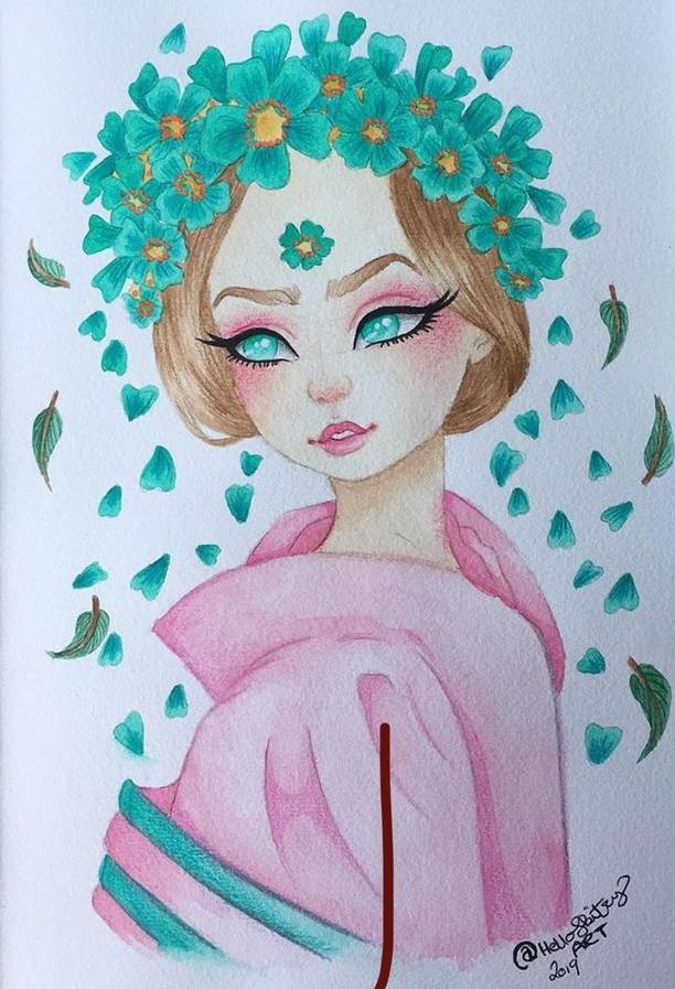 Kimono Princess Jade