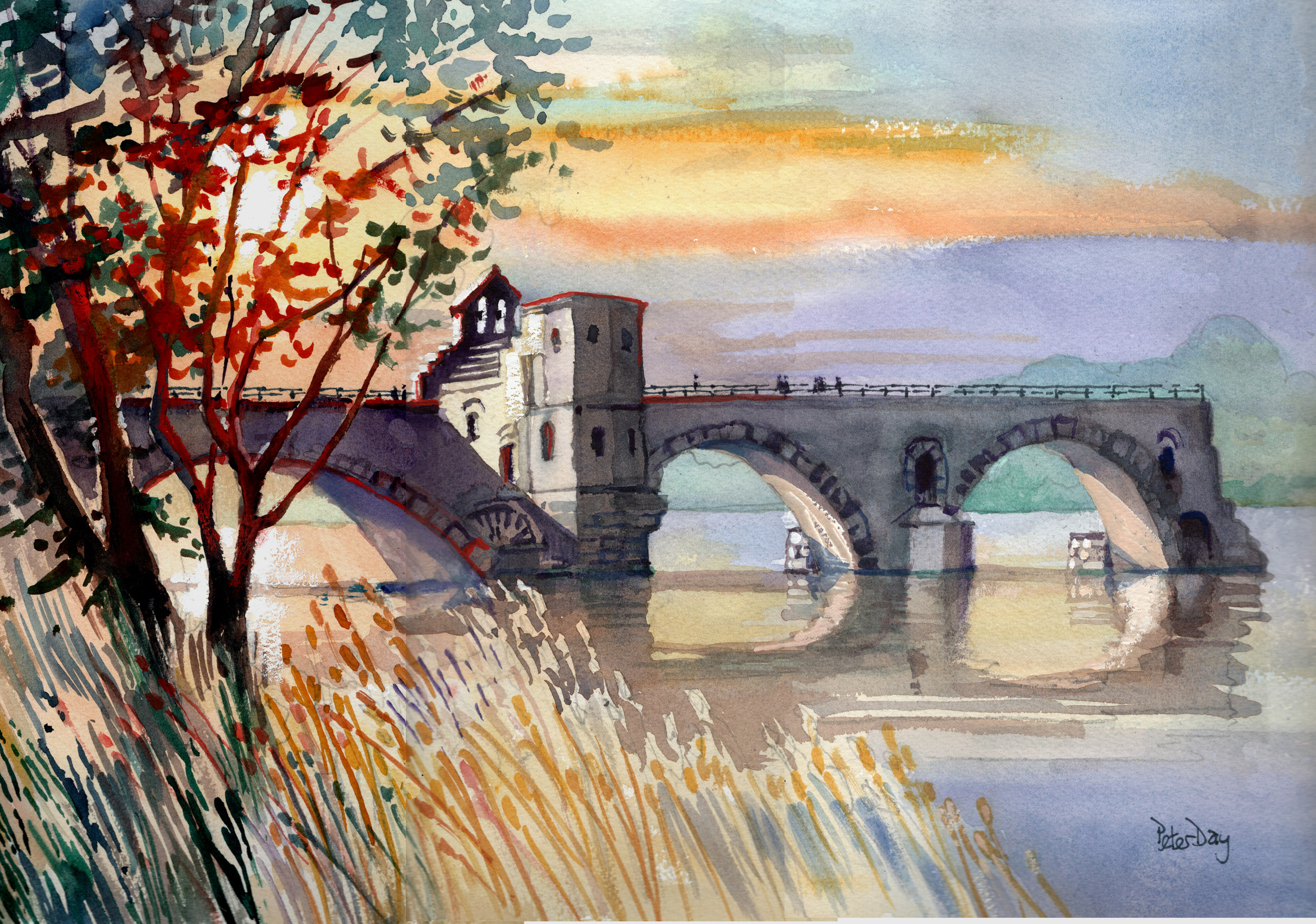 Peter Day, Artist in Watercolour