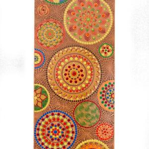 Colourful abstract Mandala painting