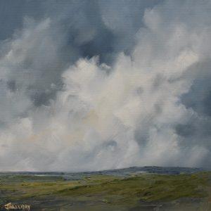 Billowing Cloud, Irish Landscape