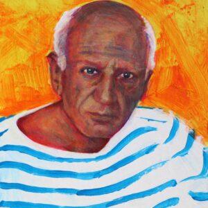 Striped Picasso Vincent McDonnell
